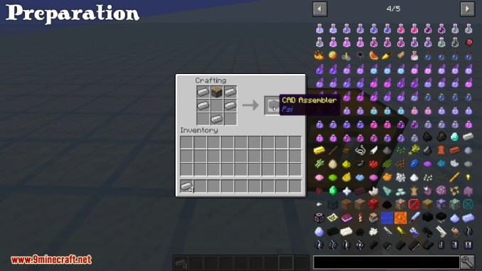 Psi Mod Crafting Recipes 1