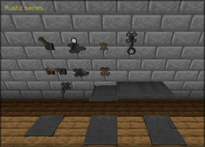 Redstone Gauges and Switches mod for minecraft 24