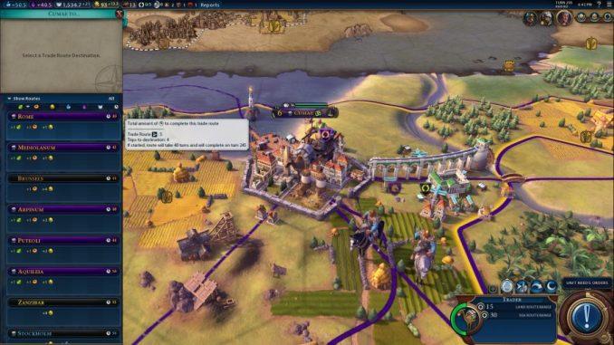 Better Trade Screen - Top 9 best Civilization VI mods | Civ 6 mods download .