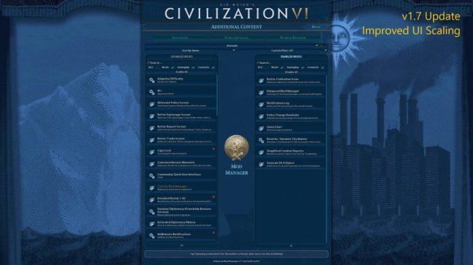 Enhanced Mod Manager - Top 9 best Civilization VI mods | Civ 6 mods download .