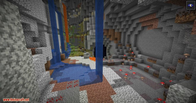 Cave Biomes mod for minecraft 08