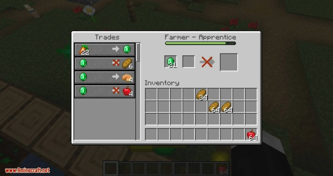 EasierVillagerTrading mod for minecraft 06