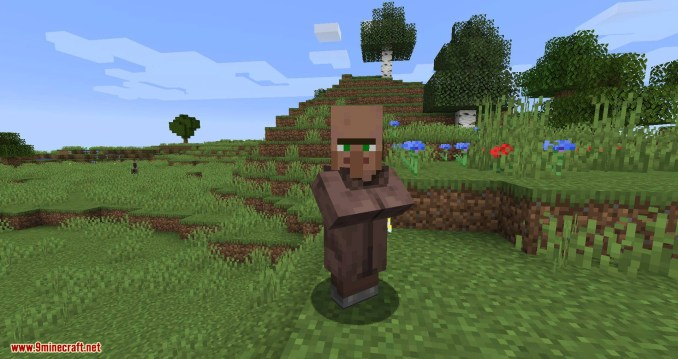 EasierVillagerTrading mod for minecraft 01