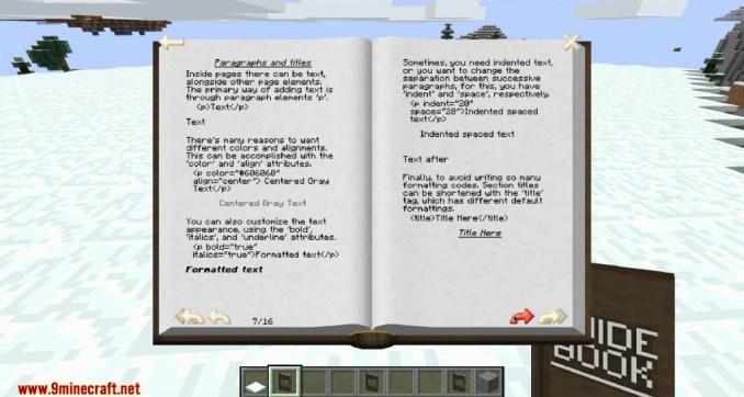 GuideBook Mod Screenshots 4