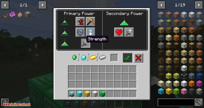 Just Enough Beacons mod for minecraft 04