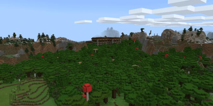 Dueling Mansions (Bedrock) - Top 10 Best Minecraft Woodland Mansion Seeds for 1.16 (Java & Bedrock)