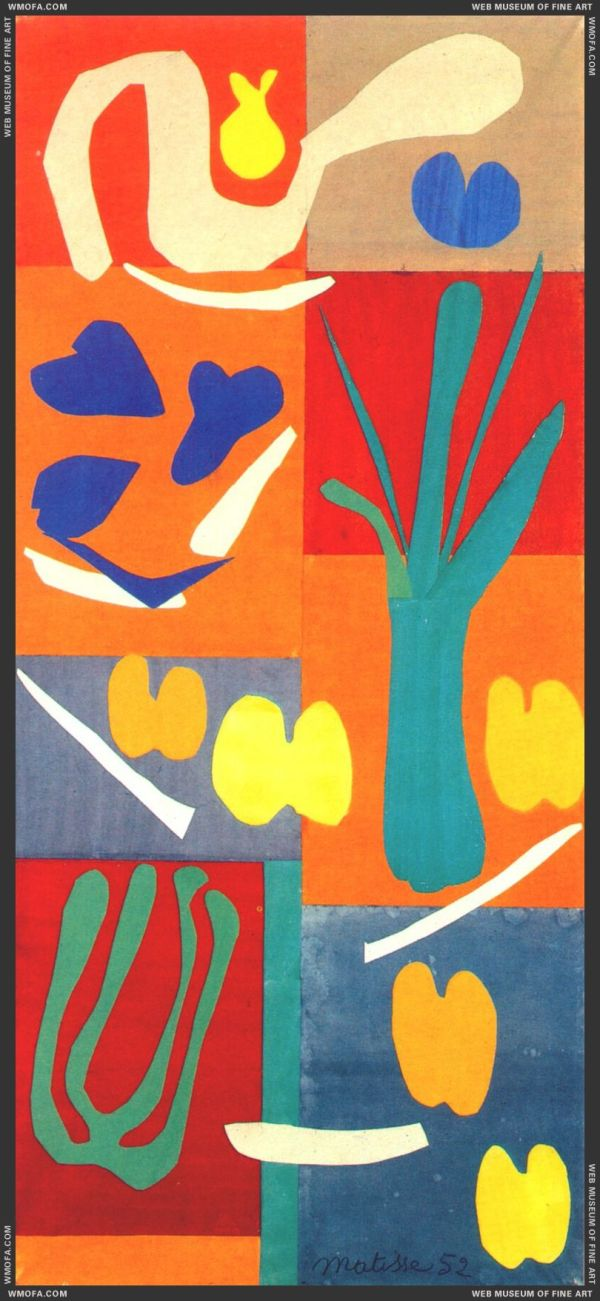 Paintings of Henri Matisse Cut Out Images