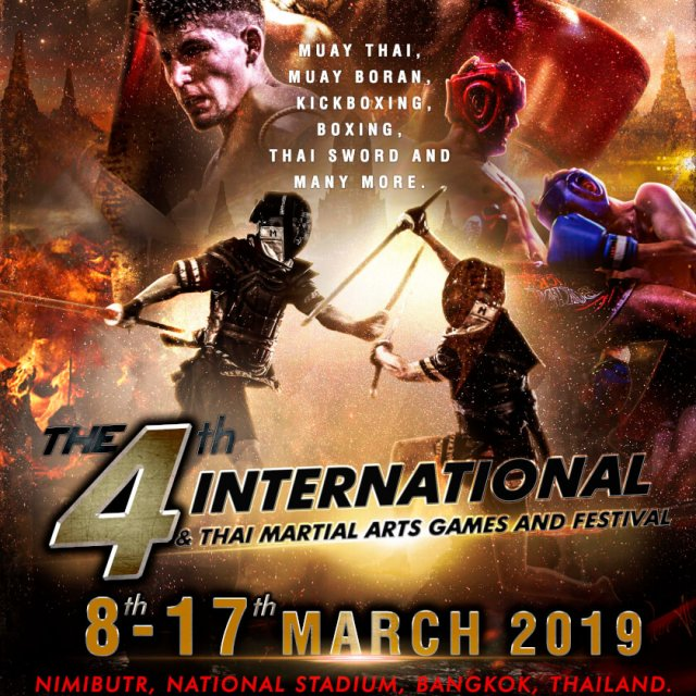 4th International & Thai Martial Arts Games
