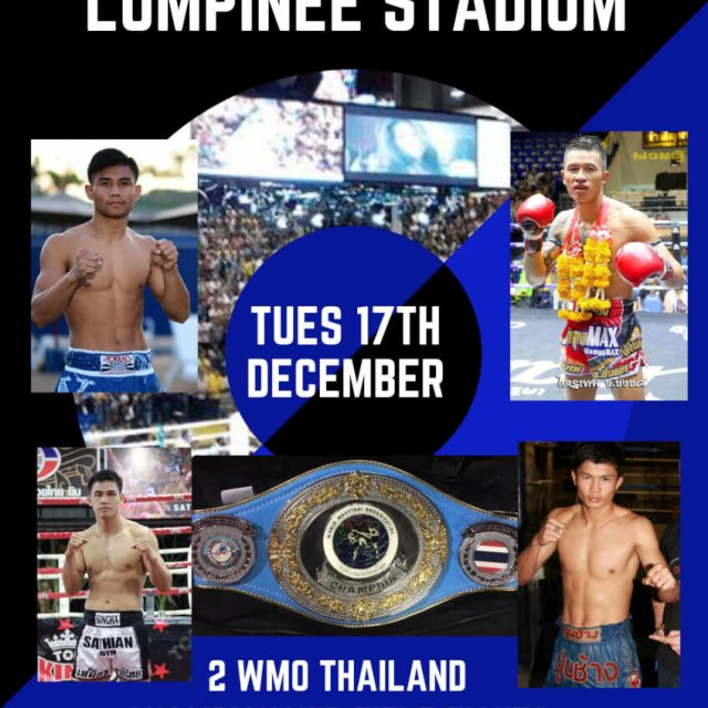 WMO Champion at Lumpinee Stadium