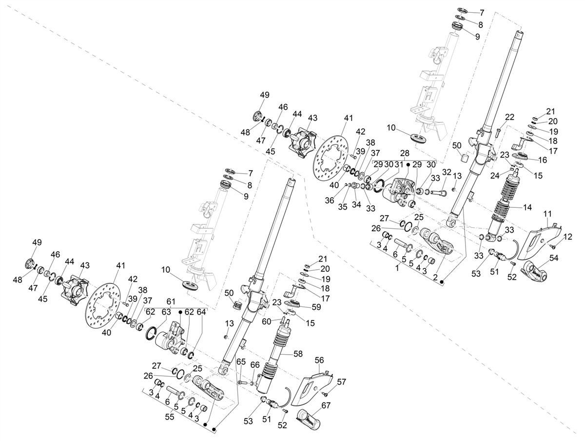 Tafel 04.02 Gabel/Lenkerleitung- Steuersatz