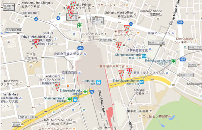 cafes nearby, food delivery nearby, parks nearby, attractions nearby, japanese gardens nearby, on map nearby restaurants