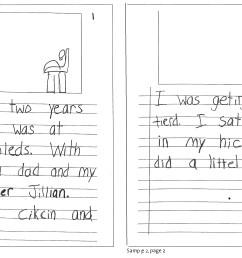 Writing Samples - Ages 6-9 - Wilmington Montessori School [ 2406 x 3769 Pixel ]