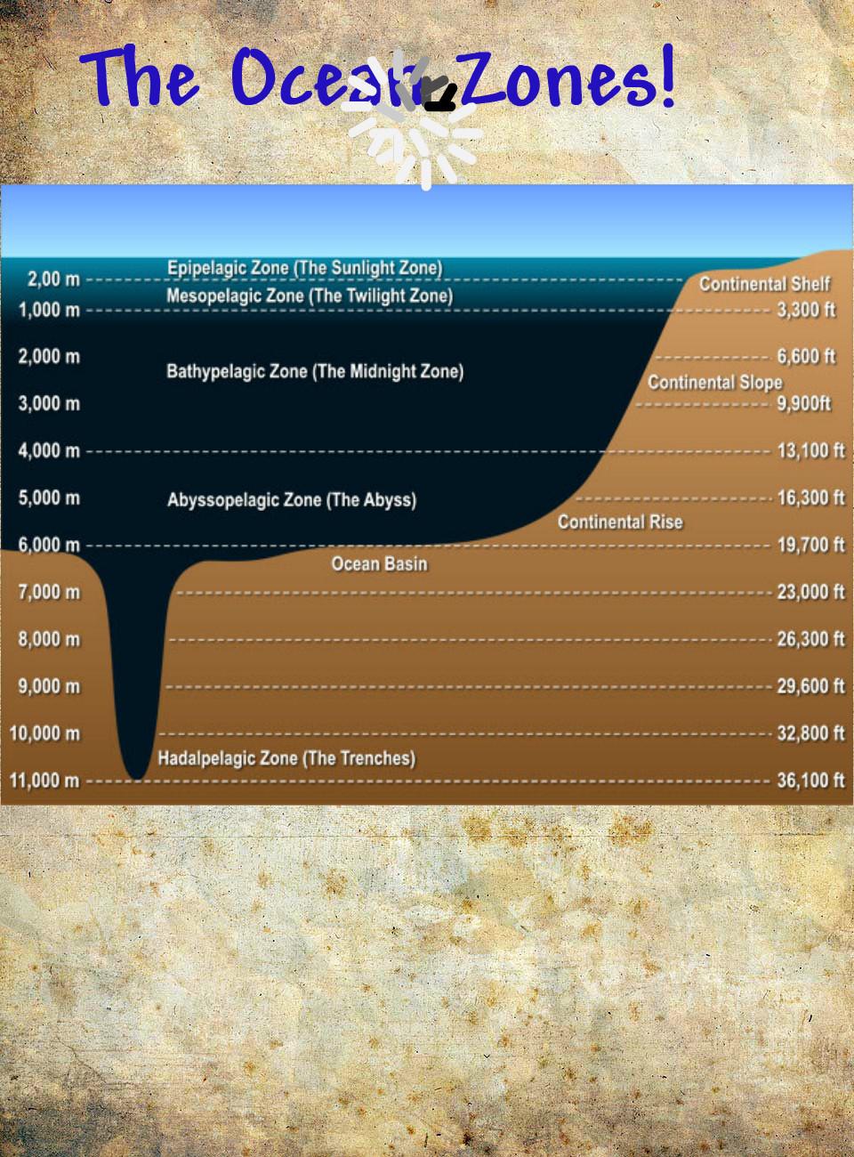 hight resolution of diagram of pressure in the ocean