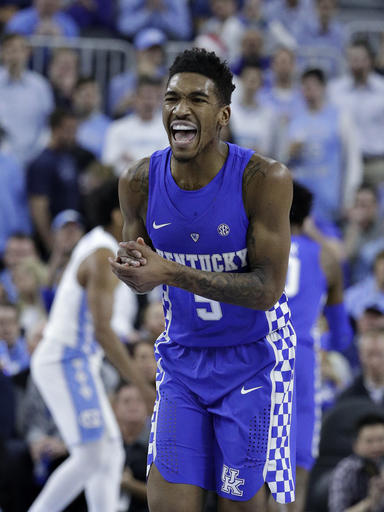 Kentucky North Carolina Basketball_318783