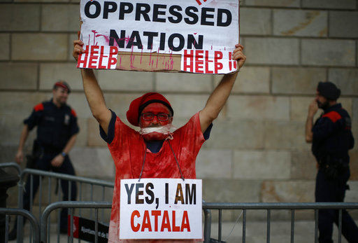 APTOPIX Spain Catalonia_495476