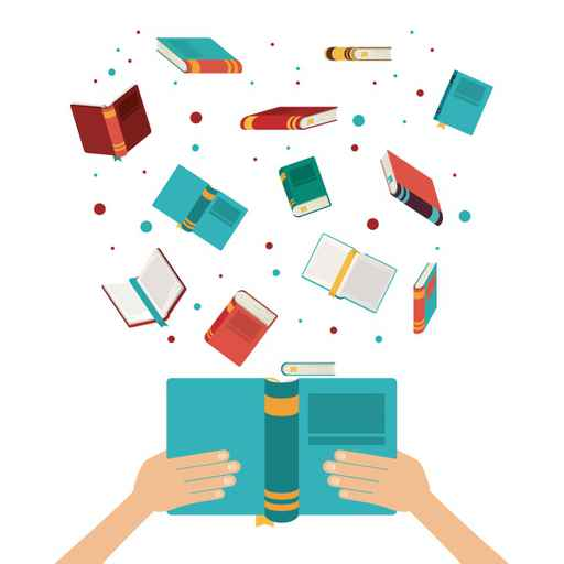 book open set hand read library literature learning knowledge ic_492919