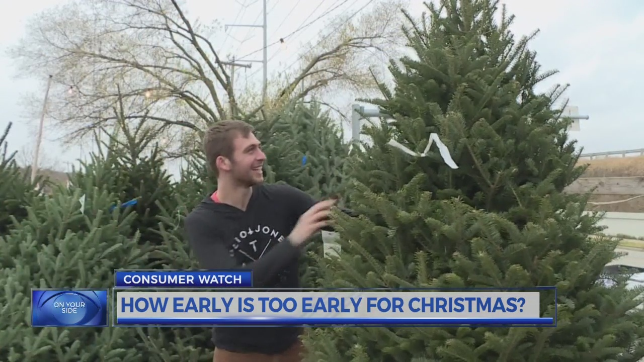 Consumers weigh in on how early is too early for Christmas