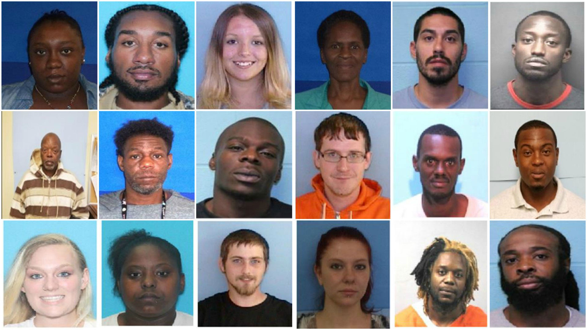 10 arrested, 9 wanted as part of