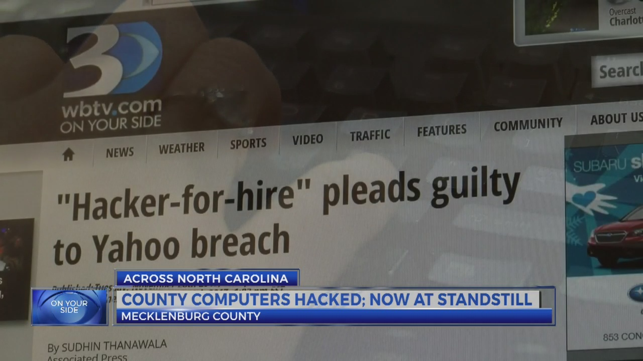 North Carolina county's servers hacked; $23K ransom sought