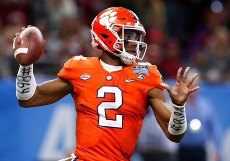 Clemson Quarterback Depth Football_1532383471398