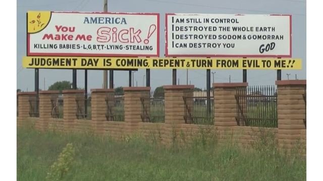 Hateful' sign in along New Mexico highway creates controversy