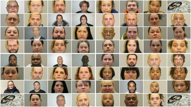 62 Arrested Welfare Fraud Mugshots