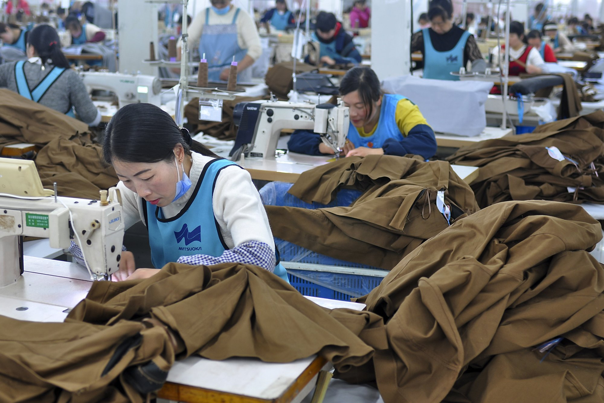 China Clothing Workers