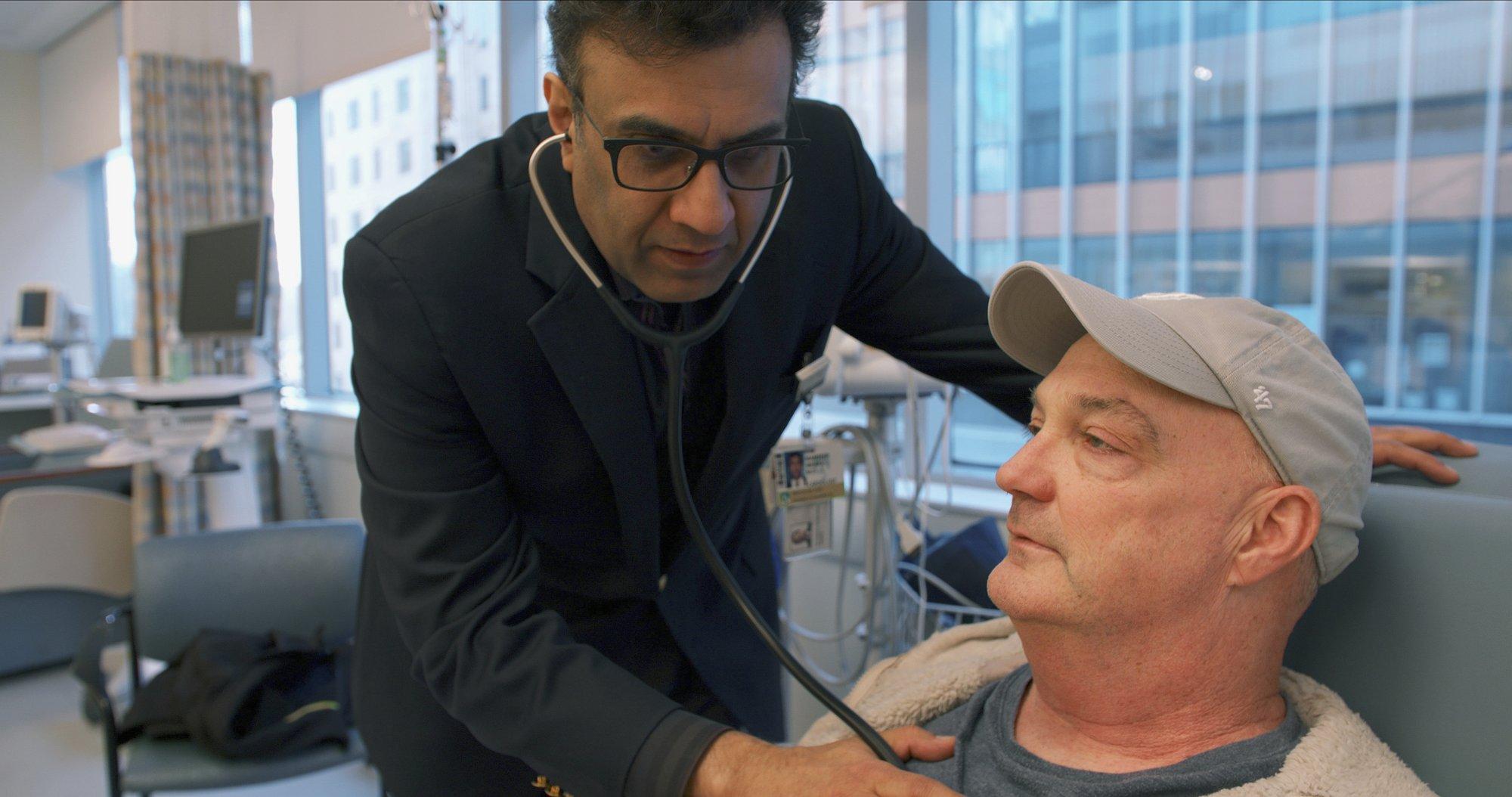 Doctor Checks Patient
