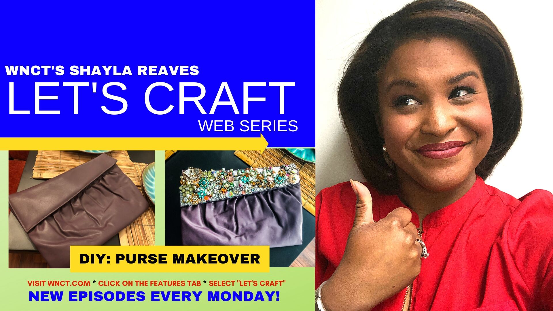 How to: Makeover A Clutch Purse