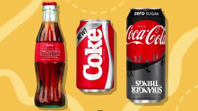 Stranger Things Coke
