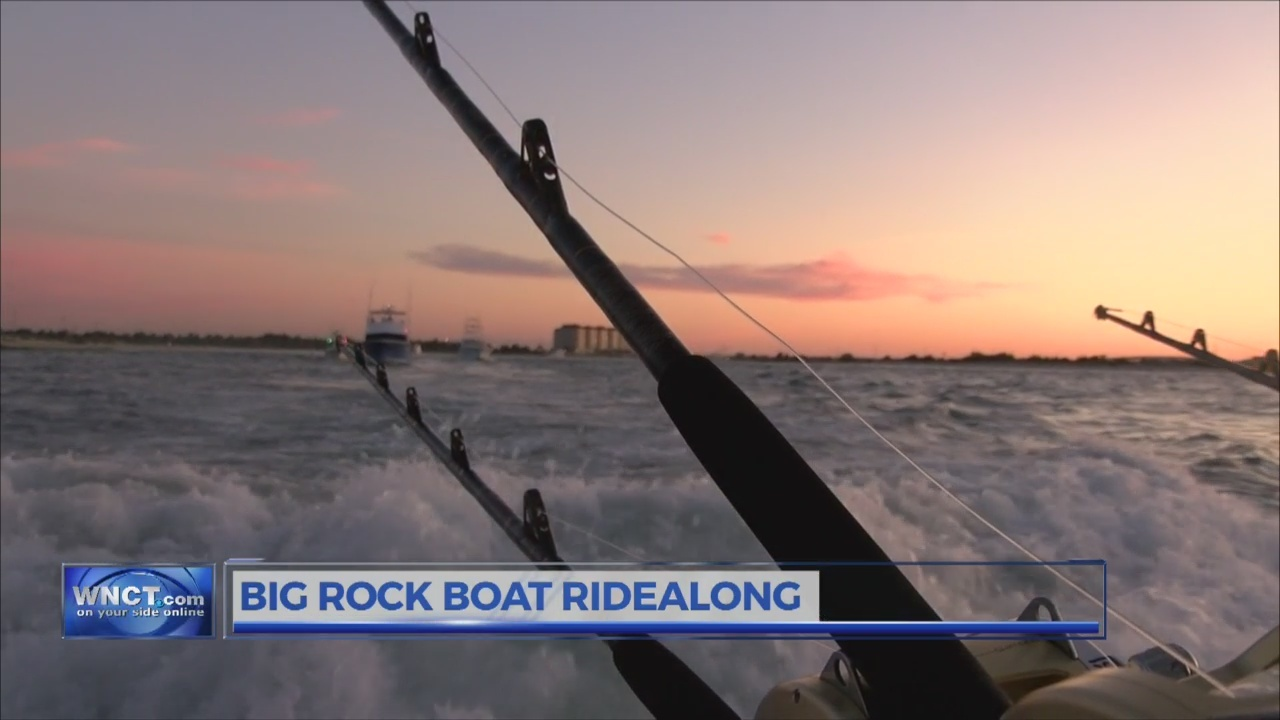 Big Rock Blue Marlin Tournament Ride Along
