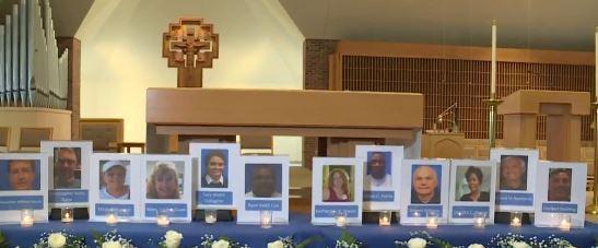 VB Shooting Victims Memorial Service