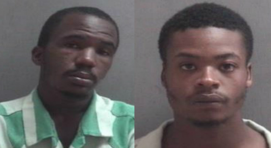 Two arrested for allegedly shooting into occupied car in