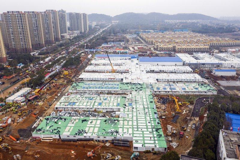 China abre hospital para coronavirus, calma los mercados   WNCT