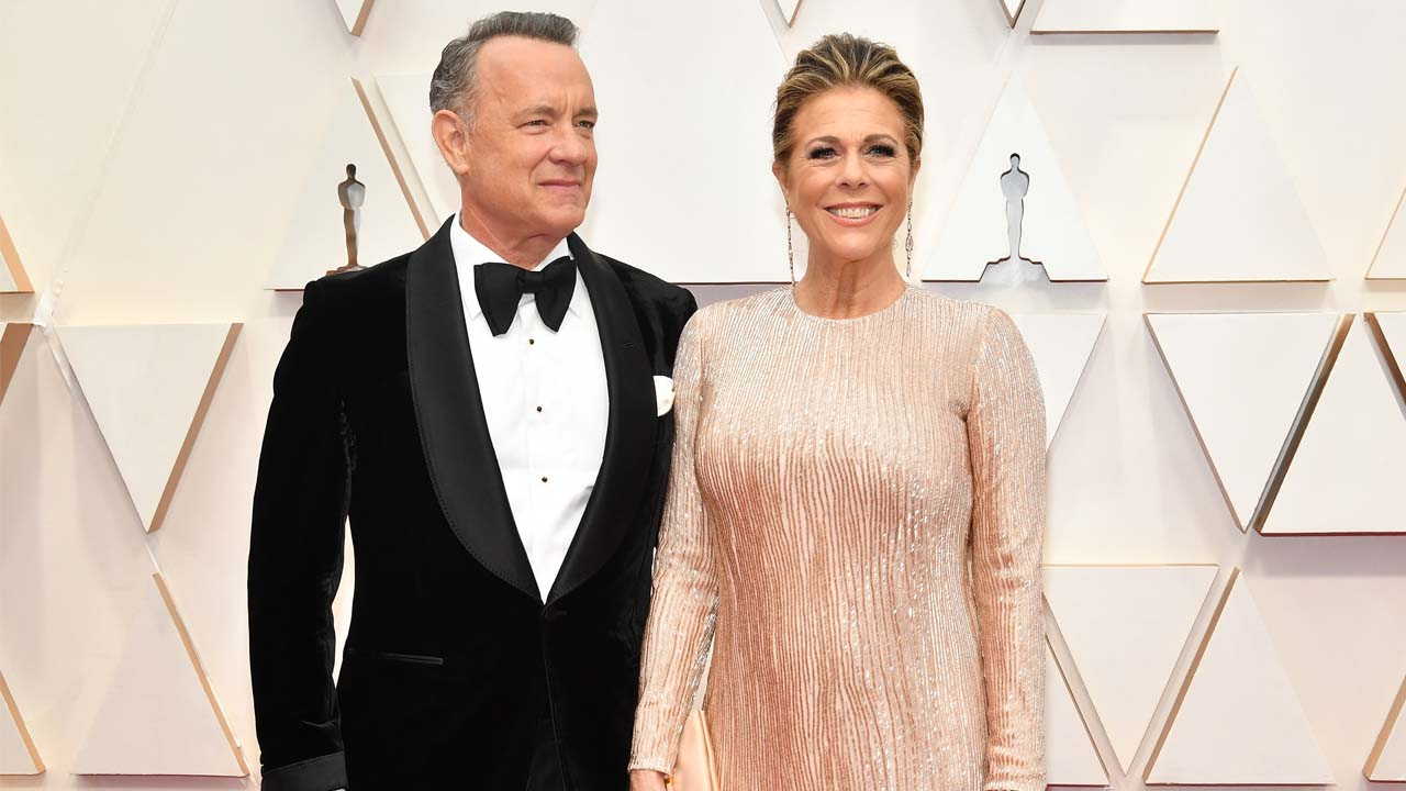 Tom Hanks And Rita Wilson T