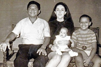 Lolo-StanleyAnn-Barry-and-Maya-Soetoro