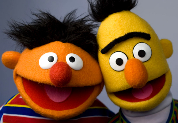 Bert and ernie homosexual advance