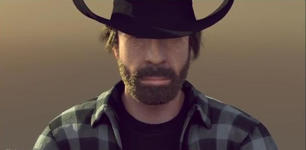 Chuck Norris is right behind you watching