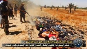Purported ISIS massacre in Iraq