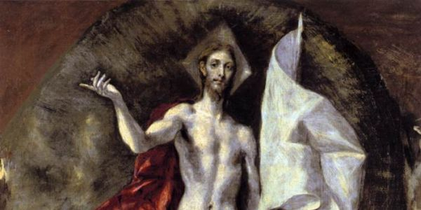 "El Greco's ""Resurrection"""