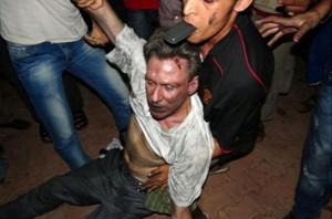 The final moments of  American ambassador to Libya, Chris Stephens