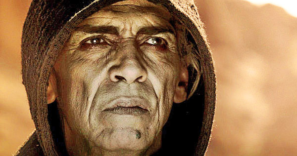 "Satan the devil in ""The Bible"" TV miniseries."