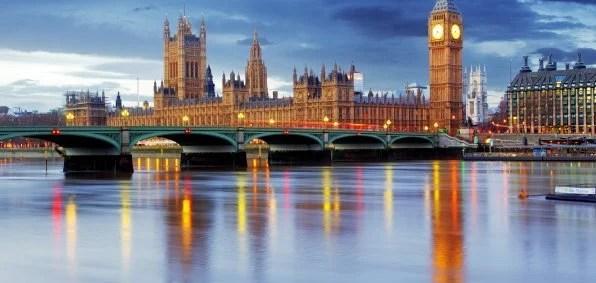 British Parliament in London
