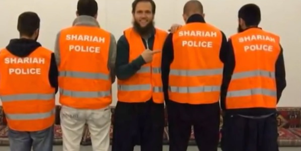 """A German court ruled Dec. 10, 2015 that """"Shariah police"""" can operate on city streets"""