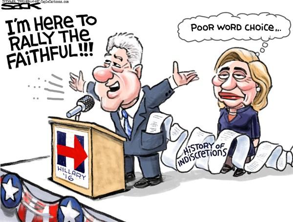 Bill Clinton Rallies The Faithful WND