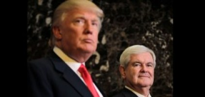 President Trump and former House Speaker Newt Gingrich