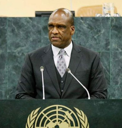 Former President of the United Nations General Assembly John Ashe