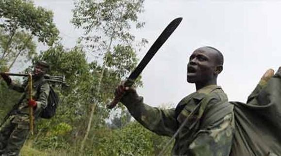 Jihadist on the Democratic Republic of Congo where Christians are often hacked to death by Muslim rebels.