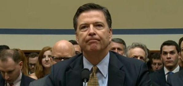 FBI Director James Comey testifies before a House committee Sept. 28, 2016.
