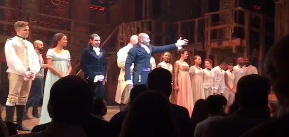"The cast of ""Hamilton"""